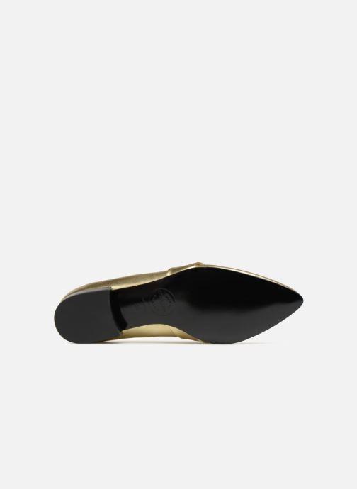 Slipper Made by SARENZA Busy Girl Mocassin #4 gold/bronze ansicht von oben