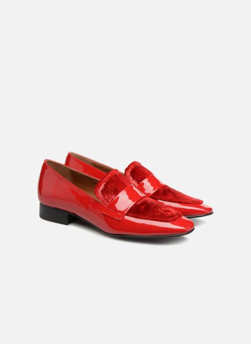 Rougeplateau Poils By 80's Rouge Vernis Disco Mocassin3 Made Cuir Sarenza Girl mnOv80wNy