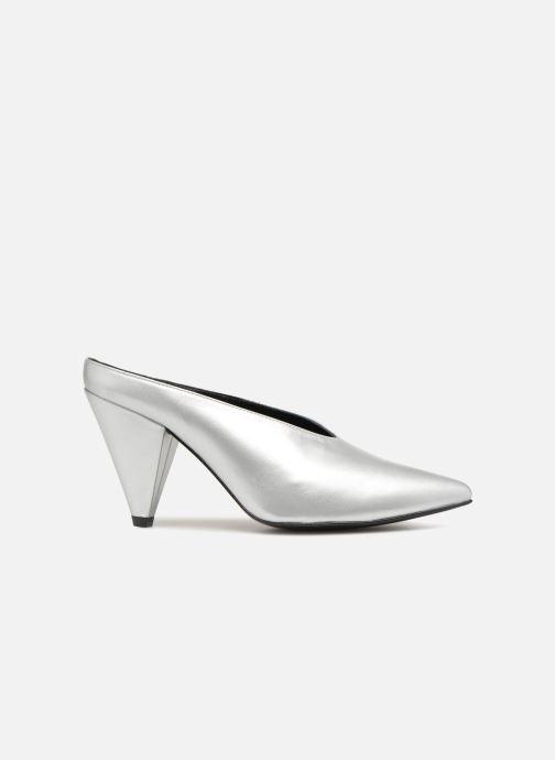 Clogs & Pantoletten Made by SARENZA 80's Disco Girl Mules #1 silber detaillierte ansicht/modell
