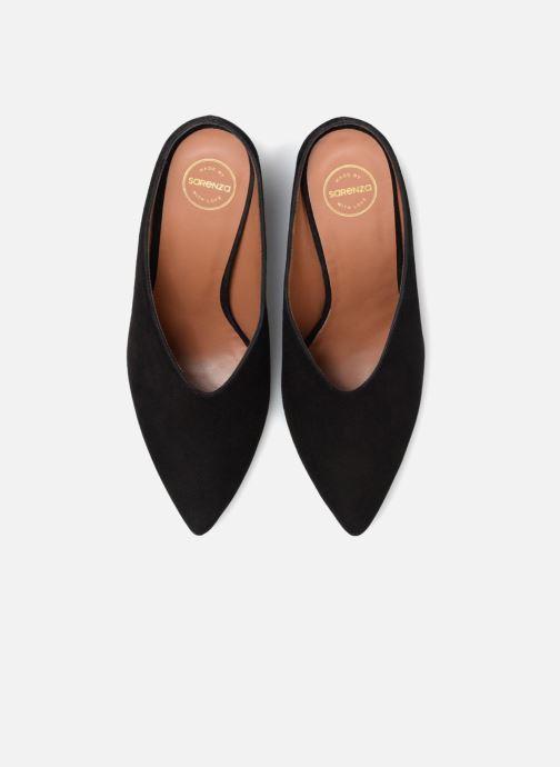 Zuecos Made by SARENZA 80's Disco Girl Mules #1 Negro vista del modelo