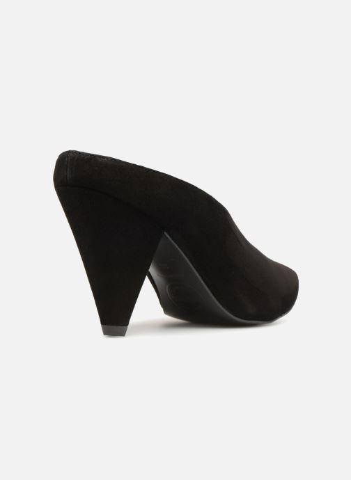 Zuecos Made by SARENZA 80's Disco Girl Mules #1 Negro vista de frente