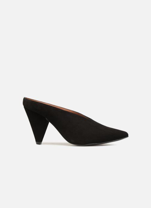 Clogs og træsko Made by SARENZA 80's Disco Girl Mules #1 Sort detaljeret billede af skoene