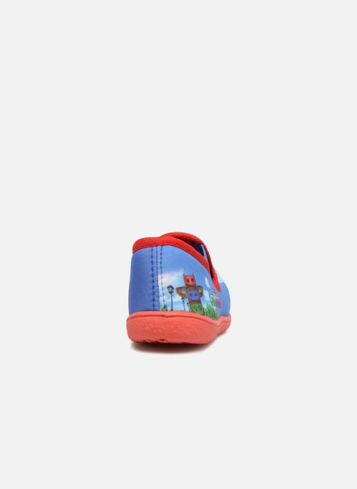 Slippers PJ Masks Caniac Blue view from the right