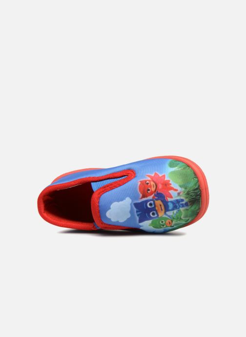 Slippers PJ Masks Caniac Blue view from the left
