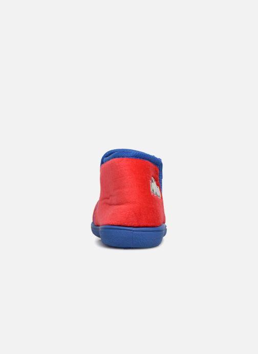 Pantuflas PJ Masks Cidem Rojo vista lateral derecha
