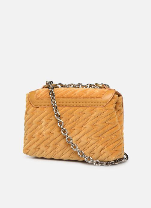 Sacs à main Vivienne Westwood Coventry Medium Handbag Jaune vue droite