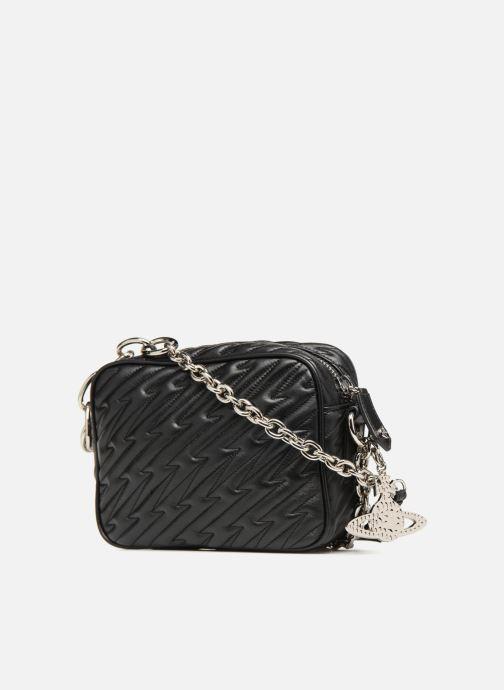 Handtaschen Vivienne Westwood Coventry Camera Bag schwarz ansicht von rechts