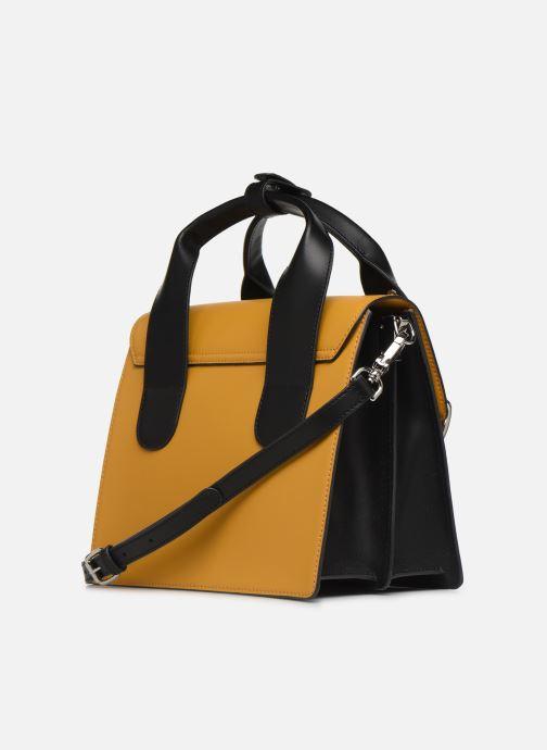 Sacs à main Vivienne Westwood Alex Medium Handbag Jaune vue droite