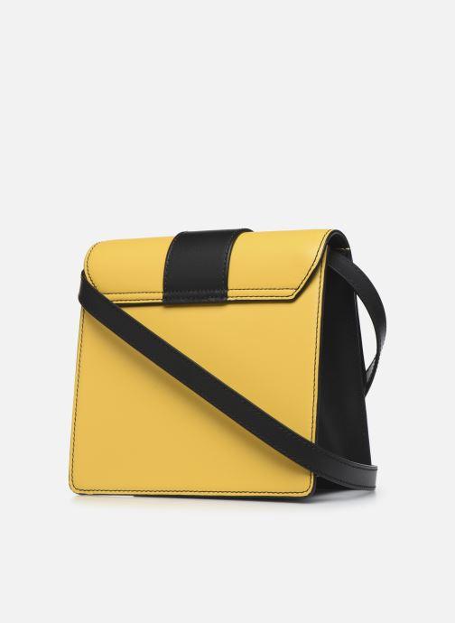 Sacs à main Vivienne Westwood Alex Small Handbag Jaune vue droite