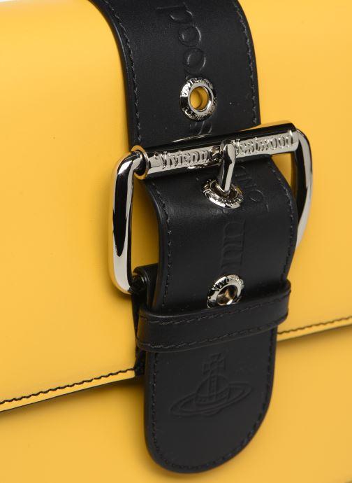 Sacs à main Vivienne Westwood Alex Small Handbag Jaune vue gauche