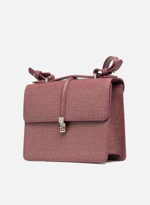 Handtaschen Vivienne Westwood Sofia Medium Shoulder Bag rosa schuhe getragen