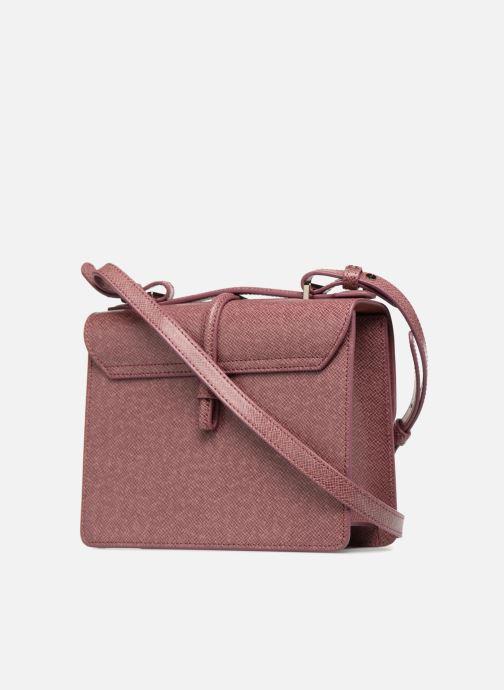 Handtaschen Vivienne Westwood Sofia Medium Shoulder Bag rosa ansicht von rechts