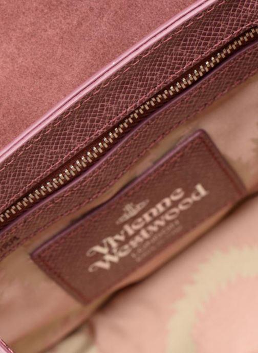 Handtaschen Vivienne Westwood Sofia Medium Shoulder Bag rosa ansicht von hinten