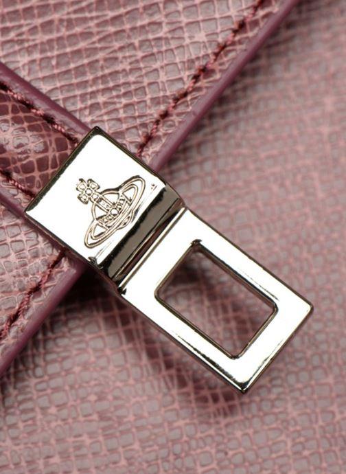 Handtaschen Vivienne Westwood Sofia Medium Shoulder Bag rosa ansicht von links