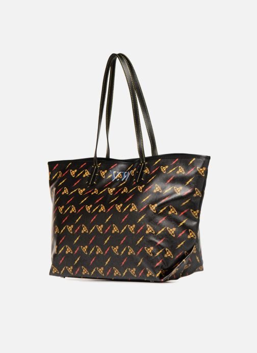 Sacs à main Vivienne Westwood Colette Smalla Shoulder Bag Noir vue portées chaussures