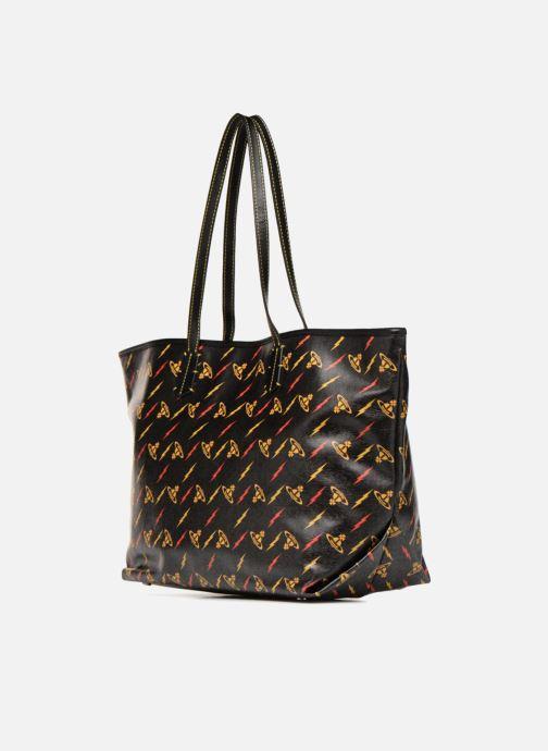 Sacs à main Vivienne Westwood Colette Smalla Shoulder Bag Noir vue droite