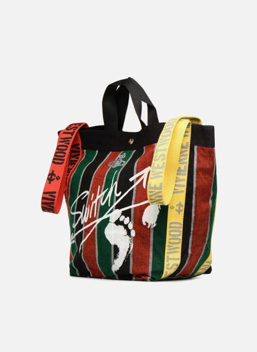 Handtaschen Vivienne Westwood Switch Runner Holdall mehrfarbig schuhe getragen