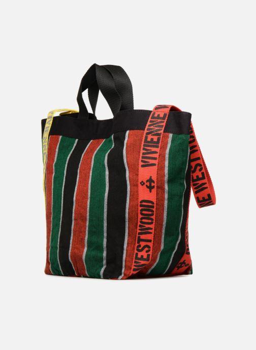 Handtaschen Vivienne Westwood Switch Runner Holdall mehrfarbig ansicht von rechts