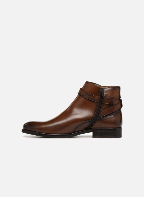 Bottines et boots Brett & Sons Liam Marron vue face