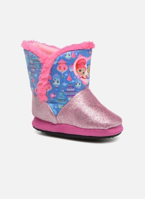 Pantuflas Shimmer & Shine Sigrid Rosa vista de detalle / par