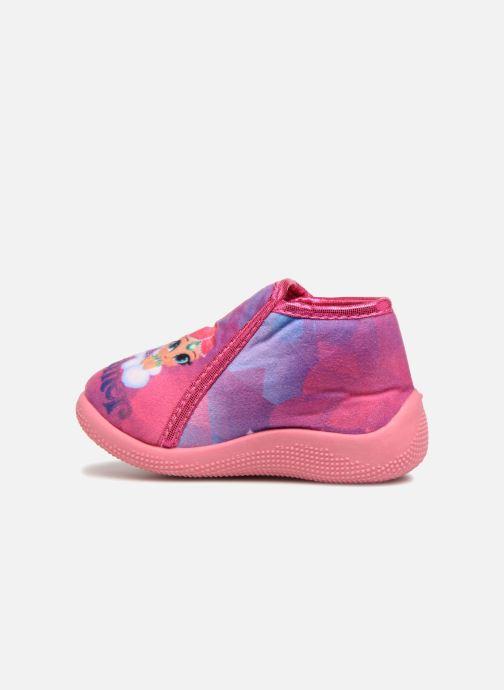 Hausschuhe Shimmer & Shine Savana rosa ansicht von vorne