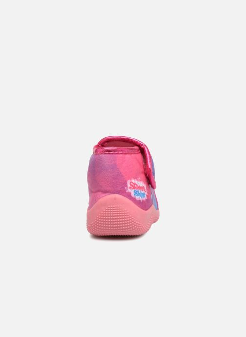 Chaussons Shimmer & Shine Savana Rose vue droite