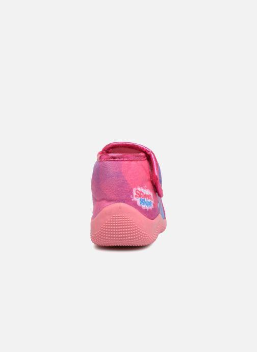 Hausschuhe Shimmer & Shine Savana rosa ansicht von rechts