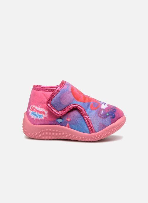 Pantofole Shimmer & Shine Savana Rosa immagine posteriore