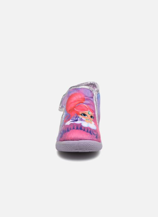 Chaussons Shimmer & Shine Savana Violet vue portées chaussures