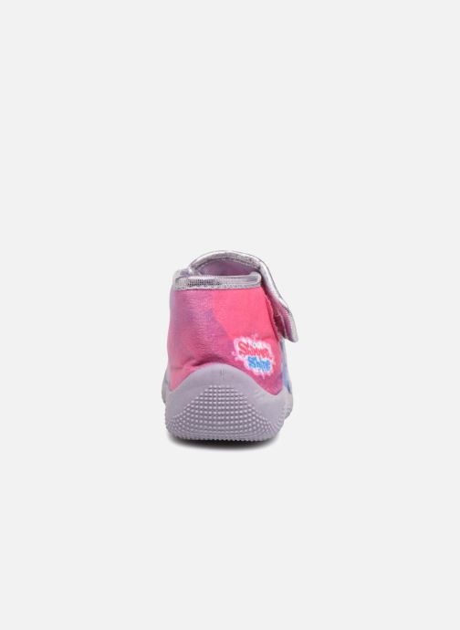 Slippers Shimmer & Shine Savana Purple view from the right