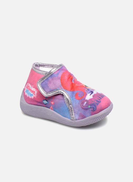 Slippers Shimmer & Shine Savana Purple detailed view/ Pair view