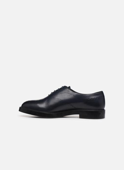 Chaussures à lacets Fratelli Rossetti Lady Pier Derby Bleu vue face
