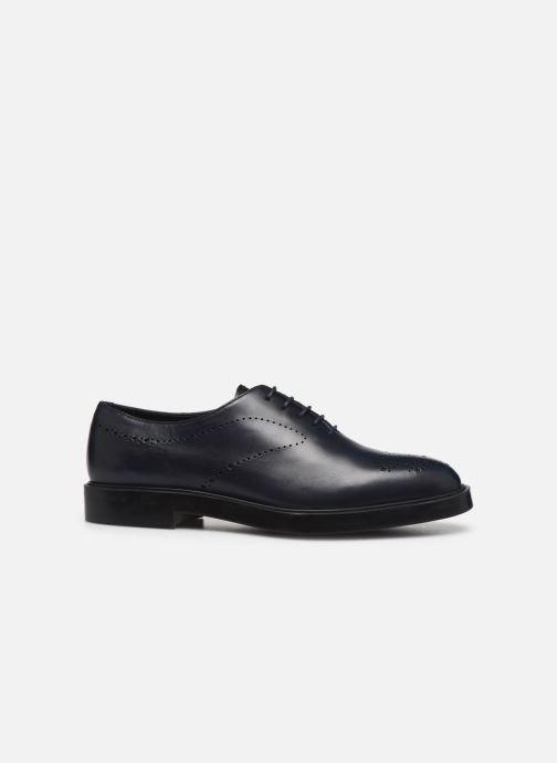 Zapatos con cordones Fratelli Rossetti Lady Pier Derby Azul vistra trasera