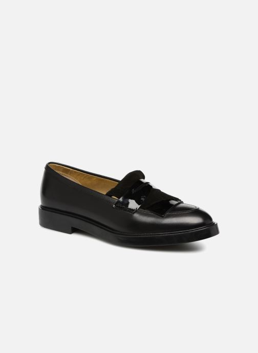 Loafers Fratelli Rossetti Lady Pier Mocassin Black detailed view/ Pair view