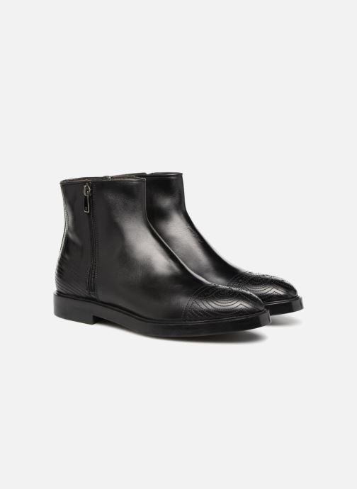 Bottines et boots Fratelli Rossetti Lady Pier Boots Noir vue 3/4