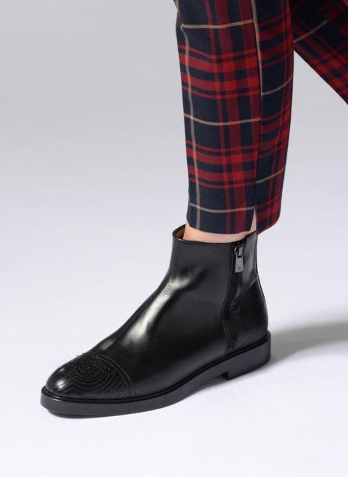 Bottines et boots Fratelli Rossetti Lady Pier Boots Noir vue bas / vue portée sac