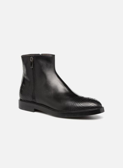 Bottines et boots Fratelli Rossetti Lady Pier Boots Noir vue détail/paire