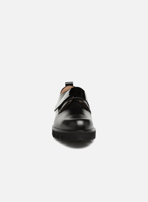Schnürschuhe Fratelli Rossetti Combo Derby schwarz schuhe getragen