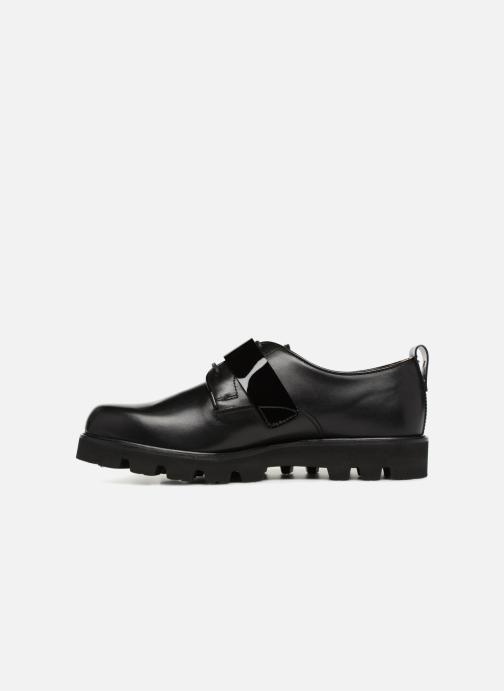 Chaussures à lacets Fratelli Rossetti Combo Derby Noir vue face