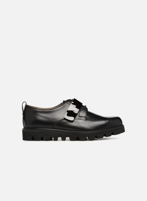 Lace-up shoes Fratelli Rossetti Combo Derby Black back view
