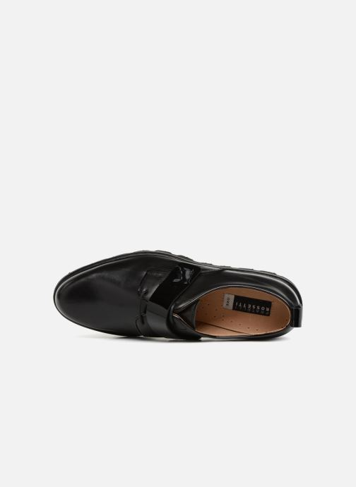 Lace-up shoes Fratelli Rossetti Combo Derby Black view from the left