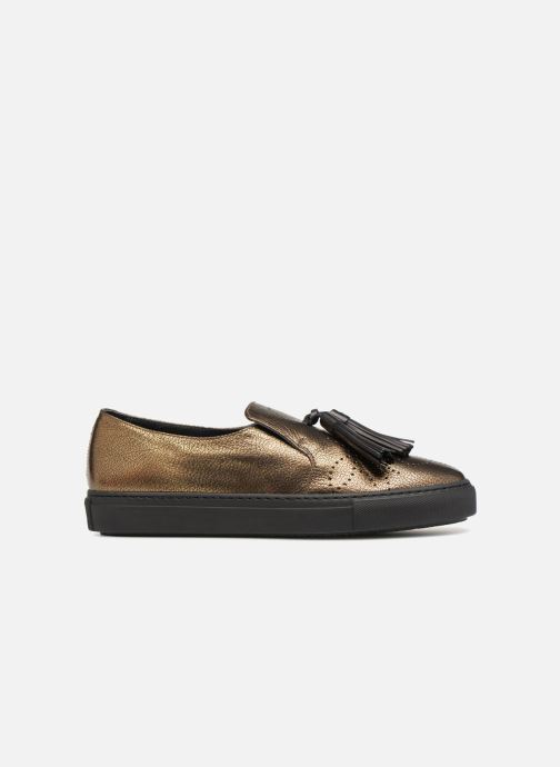 Mocassini Fratelli Rossetti Fashion Sneaker Oro e bronzo immagine posteriore