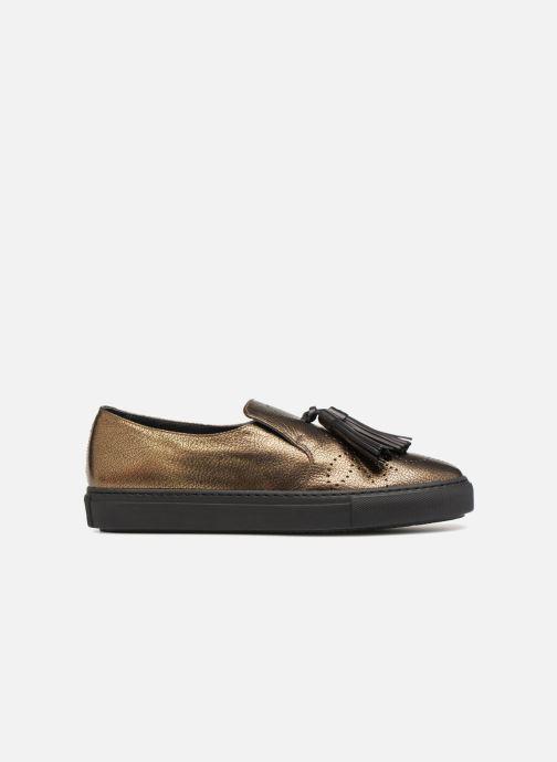 Mocassins Fratelli Rossetti Fashion Sneaker Or et bronze vue derrière