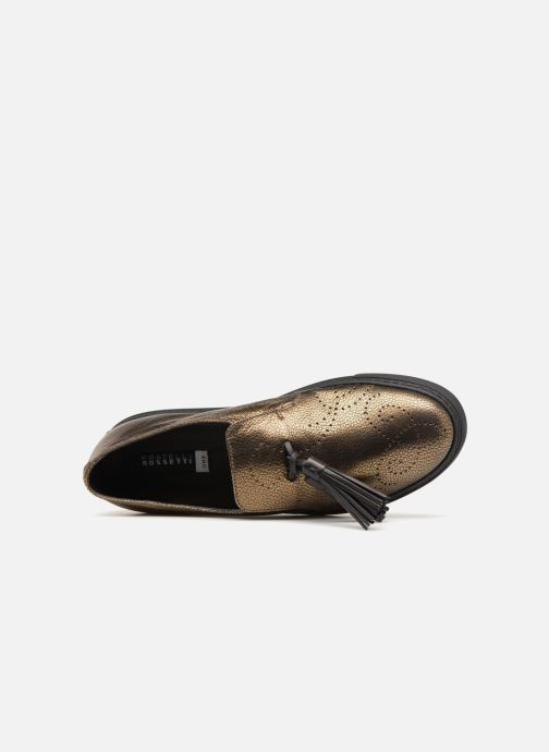Mocassini Fratelli Rossetti Fashion Sneaker Oro e bronzo immagine sinistra