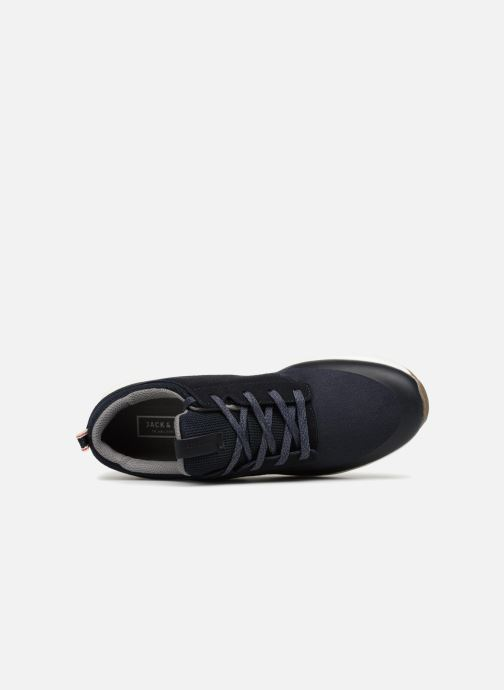 Baskets Jack & Jones JFWBOLTON MIXED Bleu vue gauche
