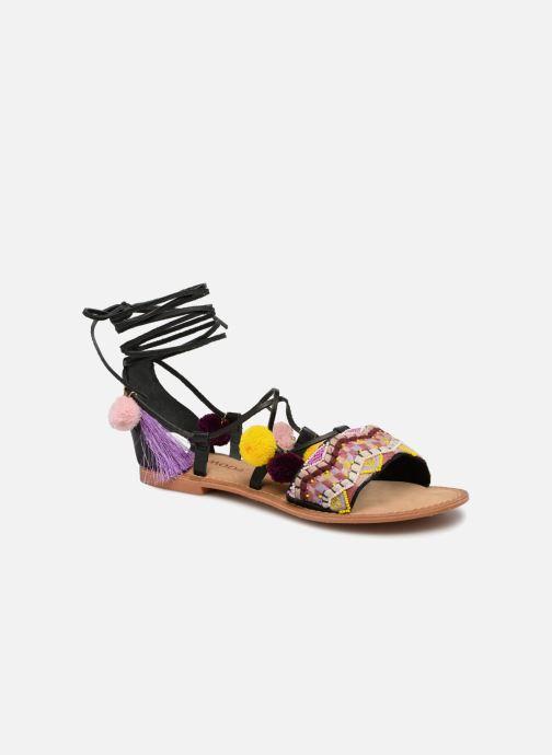 Vero Moda Lia Leather Sandal (schwarz) -Gutes Preis-Leistungs-Verhältnis, es lohnt sich
