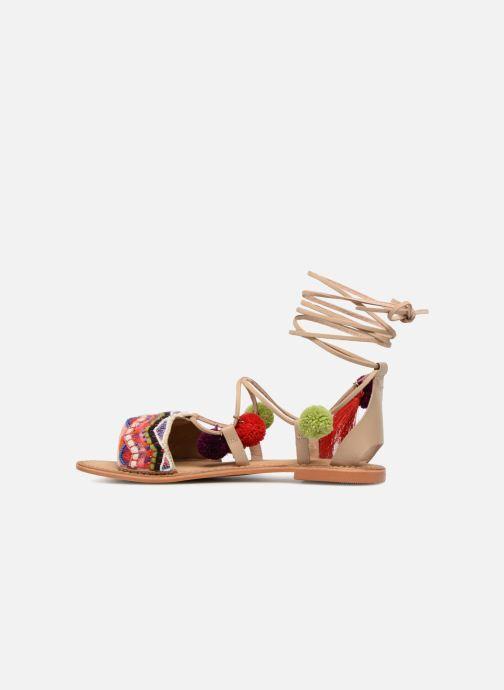 Sandalen Vero Moda Lia Leather Sandal mehrfarbig ansicht von vorne
