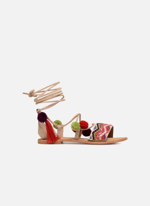 Sandales et nu-pieds Vero Moda Lia Leather Sandal Multicolore vue derrière
