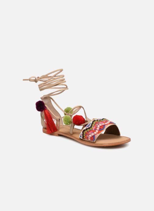 Sandales et nu-pieds Vero Moda Lia Leather Sandal Multicolore vue détail/paire