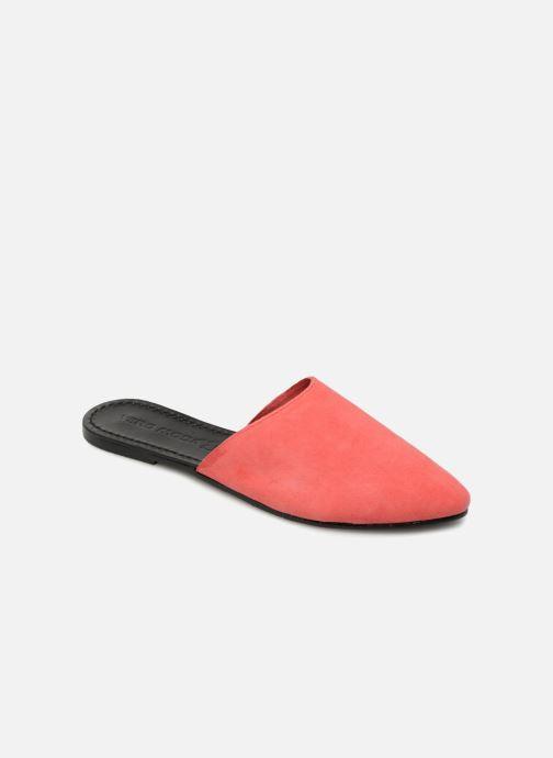 Mules et sabots Vero Moda Lia Leather Mule Rouge vue détail/paire